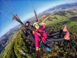 tandemový paragliding