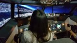simulovaný let na Boeingu