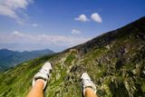horský paragliding