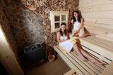 sauna v modre