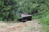 jazdenie tankom po teréne