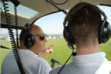 pilotom vrtuľníku na skúšku
