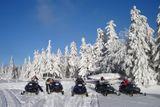 snežným skútrom po Rejdovej