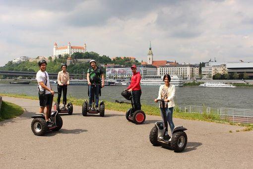 Bratislava na Segway pre deti