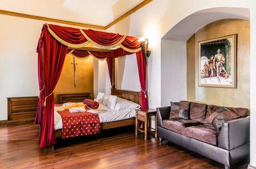 Exkluzívny romantický pobyt na zámku Vígľaš