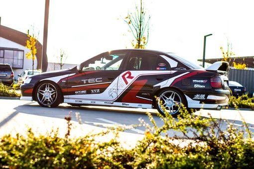 Jazda na Honde Accord Type R na Slovakiaringu