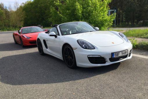 Jazda na Porsche Boxter