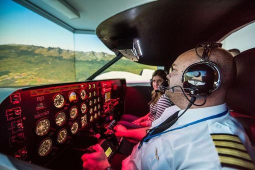 Letecký simulátor - Piper Seneca