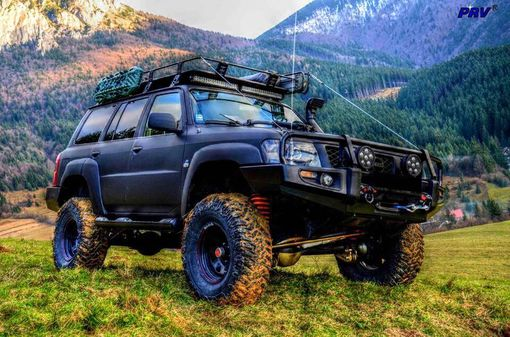 Luxusný off-road Nissan Patrol