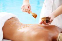 Medová detoxikačná masáž
