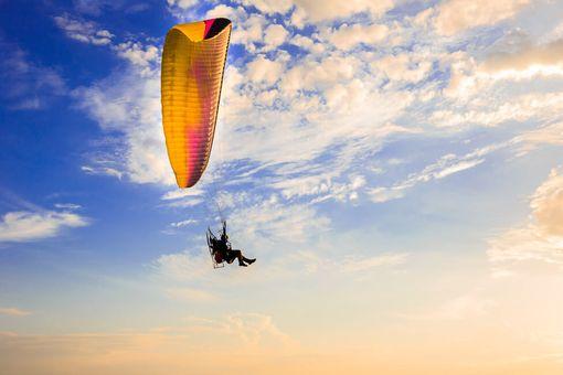 Motorový paragliding - Tandemový let