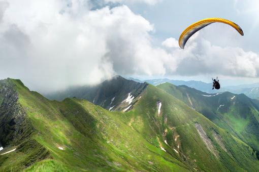 Paragliding - Tandemový let