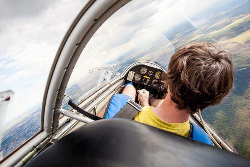 Pilotom na skúšku - vetroň