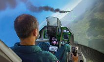 Simulátor stíhačky F-16 Fighting Falcon
