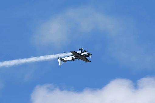 Akrobatický let lietadlom