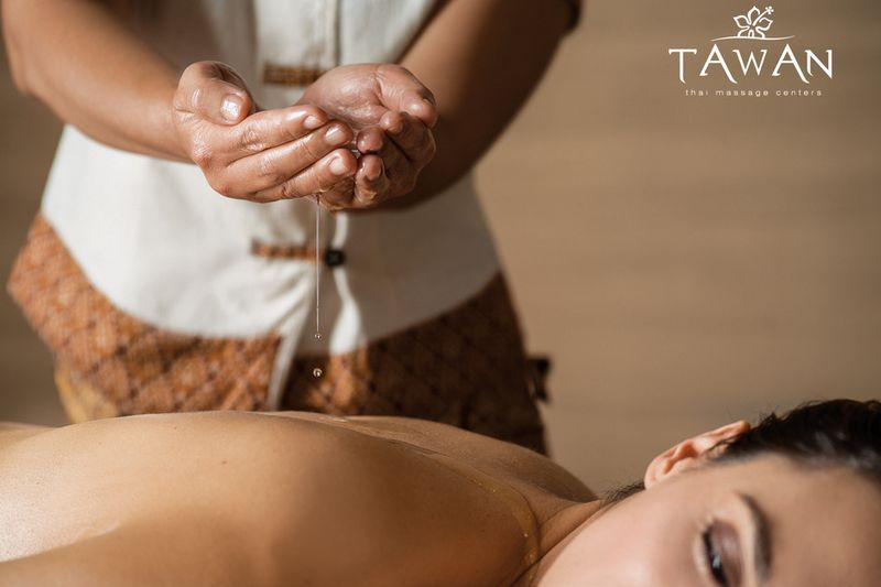 Aroma oil masáž
