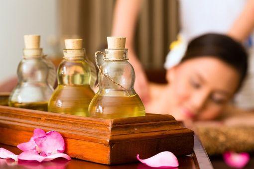 Aromaterapeutická olejová masáž
