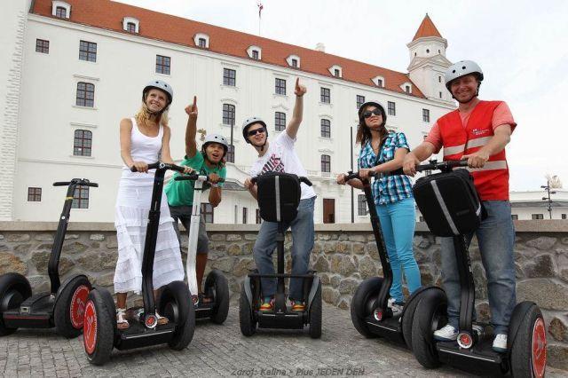 Bratislava na Segway