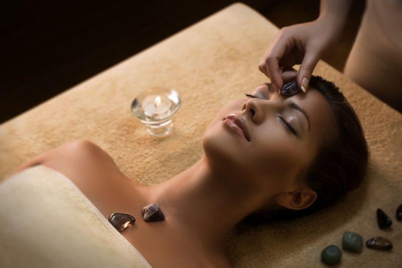 Čakrová masáž