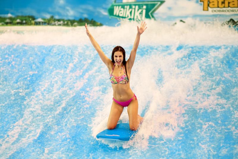Indoor surfovanie