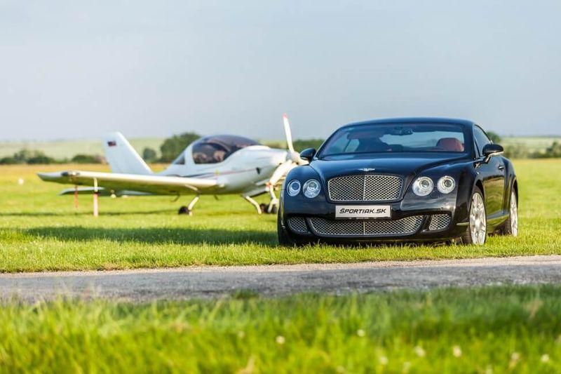 Jazda na Bentley