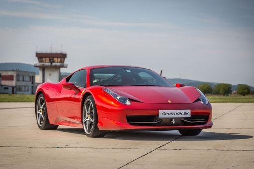 Jazda na Ferrari so šprintom