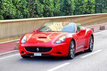 Jazda na Ferrari California