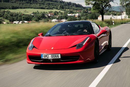 Jazda na Ferrari 458 Italia