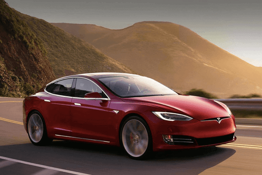 Jazda na Tesle Model S