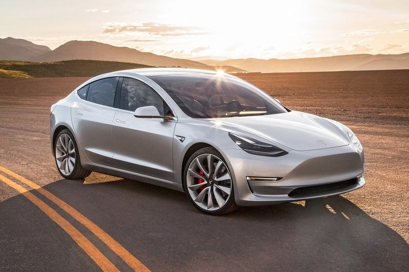 Jazda na Tesle Model 3 Performance