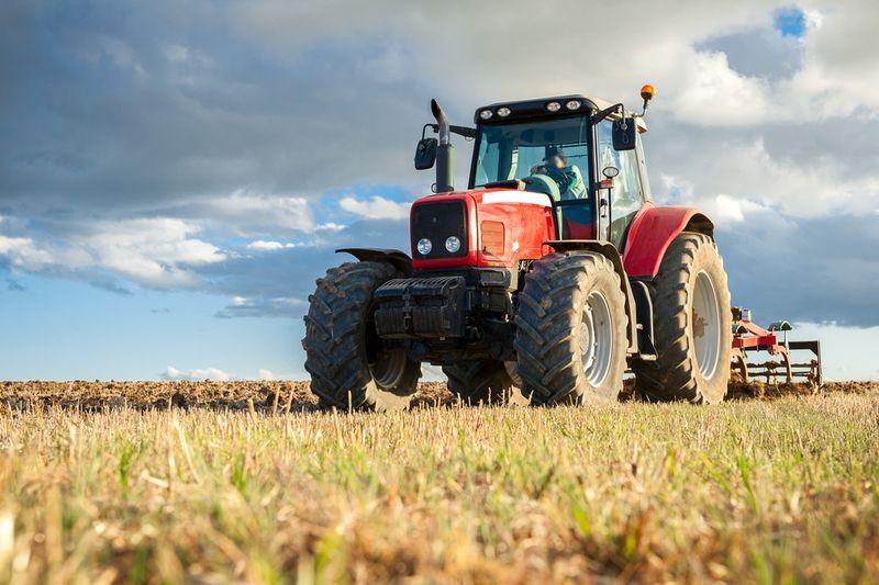 Jazda na traktore