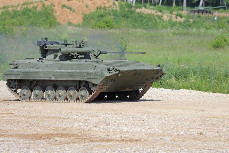 Jazda tankom - obrnený transportér