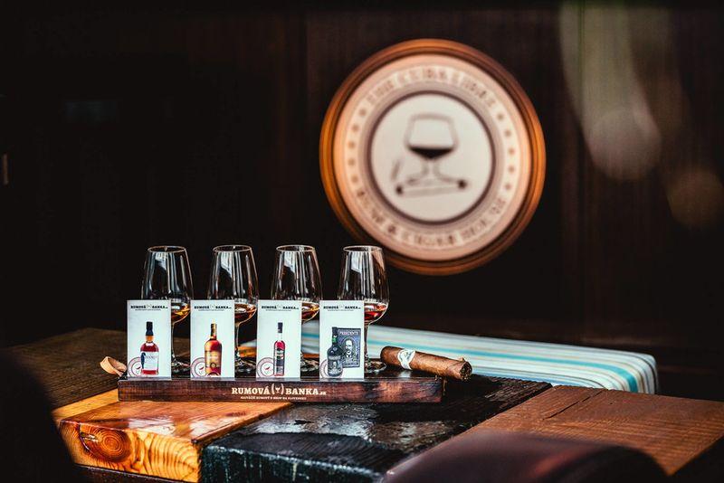 Jedinečná degustácia rumov v spojení s cigarou