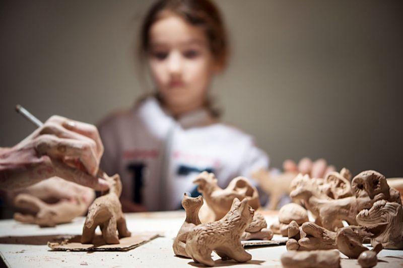 Kurz keramiky - Tvorivá rodinka