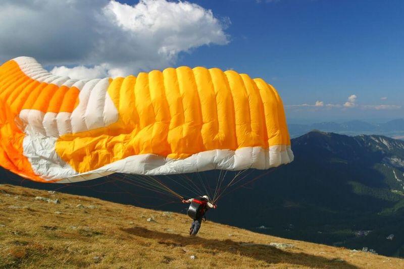 Kurz paraglidingu
