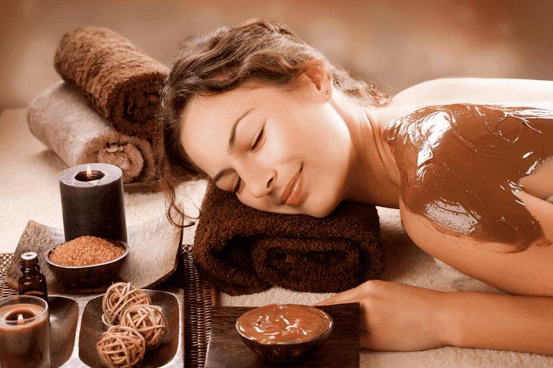 Luxusná čokoládová masáž
