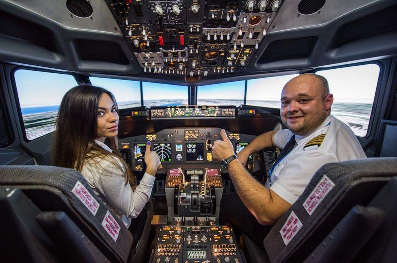 Nebezpečné letiská - simulátor Boeing 737