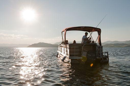 Plavba loďou po Liptovskej Mare
