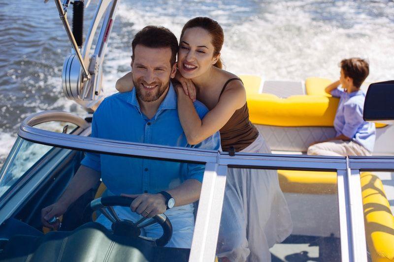 Romantická plavba motorovým člnom po Dunaji