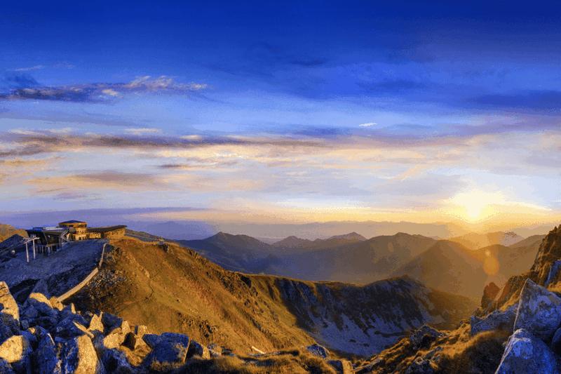 Romantický pobyt na vrchole Chopku