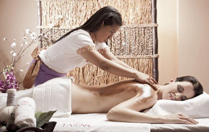 Thajská čokoládová masáž