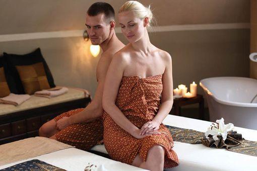Thajská párová masáž