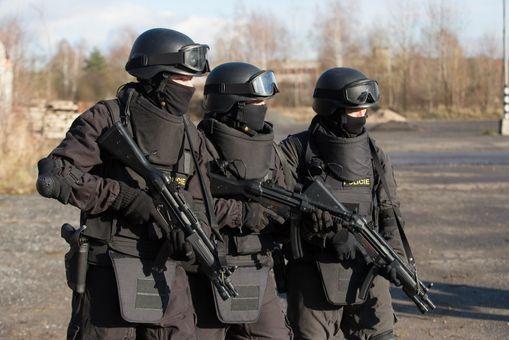 Výcvik komanda SWAT