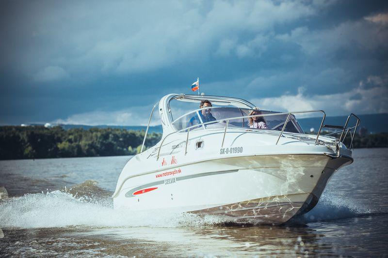 Vyhliadková plavba motorovým člnom po Dunaji