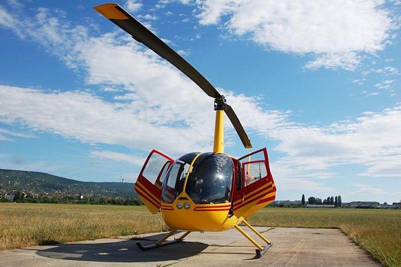 Vyhliadkový let helikoptérou