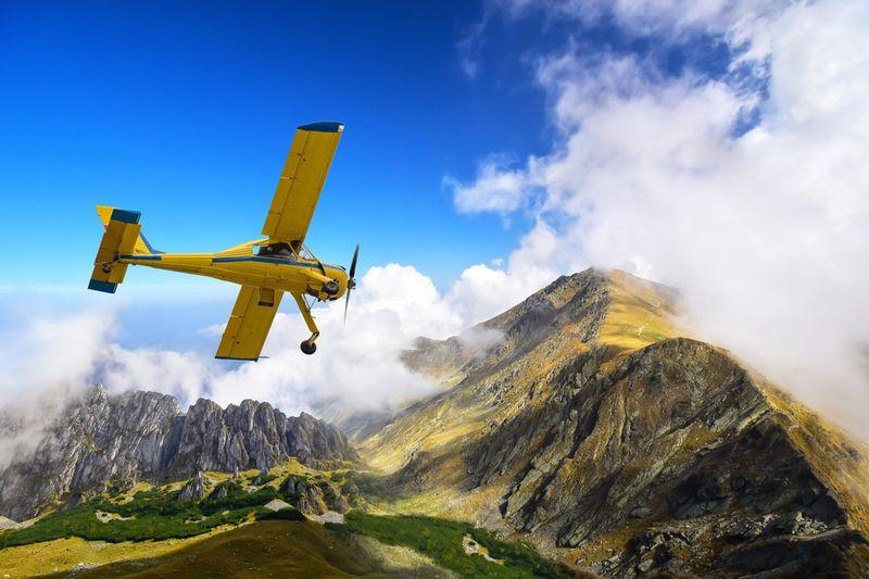 Vyhliadkový let lietadlom