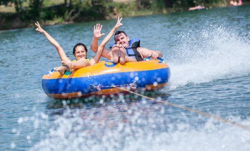 Zábavný deň na vode